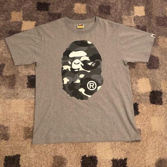 Bape Other - Bape Grey t-shirt 5c5b87027